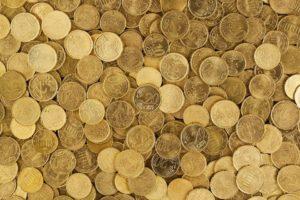 Euro, Pièces De Monnaie, Monnaie, Argent, Jaune, Europe
